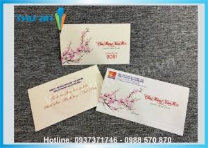 In thiệp Tết, phong bì tết thiết kế theo yêu cầu ở Hà Nội