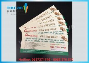 In card visit giá rẻ lấy ngay trong ngày tại Thái Hà