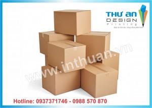 Xưởng sản xuất và cung cấp hộp carton, thung carton, hộp ship code  giá rẻ nhất tại Ba Đình