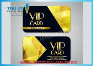 In thẻ VIP, in thẻ thành viên, hội viên giá rẻ tại Hà Nội