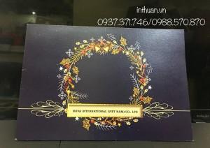 In thiệp Merry Christmas rẻ đẹp Hà Nội