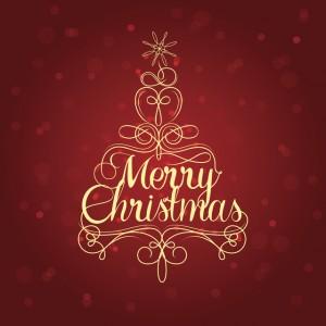 In thiệp Merry Christmas rẻ đẹp Láng Hạ