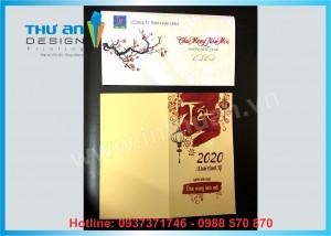 In thiệp chúc mừng năm mới 2020 giá rẻ tại Huỳnh Thúc Kháng