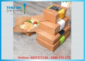 Địa chỉ cung cấp hộp giấy đựng đồ ăn nhanh Nguyễn Chí Thanh