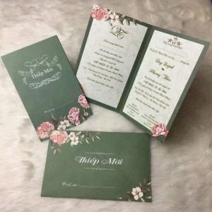 In thiệp cưới cao cấp, sang trọng tại Hà Nội