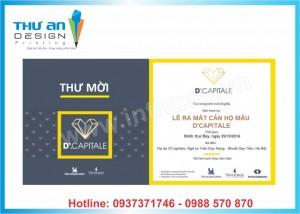 Địa chỉ thiết kế - in giấy mời rẻ đẹp Hà Nội