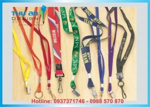 In dây đeo thẻ học sinh, sinh viên, nhân viên công ty chất lượng tại Thái Hà