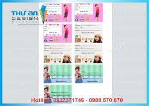 Cơ sở in nhãn vở theo yêu cầu tại Thanh Xuân