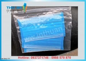 Địa chỉ bán túi zip đựng khẩu trang tại Hà Nội