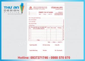 In hóa đơn, phiếu thu-chi, phiếu xuất-nhập Hà Nội
