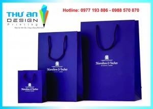 In túi giấy thiết kế đẹp nhanh rẻ Hà Nội