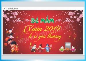 In phông nền Tết, banner - backdrop tiệc tất niên, bạt chúc mừng năm mới