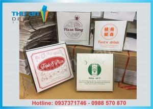 Xưởng sản xuất hộp pizza có sẵn giá rẻ
