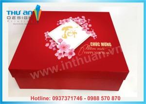 Vỏ hộp quà tết có sẵn giá rẻ Hà Nội