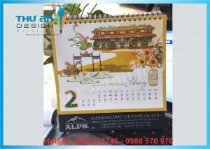 In lịch để bàn 2020 theo yêu cầu tại Thanh Xuân, Hà Nội