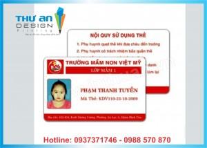 In thẻ học sinh, sinh viên giá rẻ tại Hà Nội