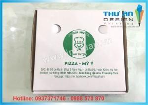 Đại lý hộp Pizza có sẵn giá rẻ