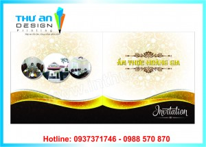 In thiệp mời sự kiện rẻ đẹp tại Huỳnh Thúc Kháng