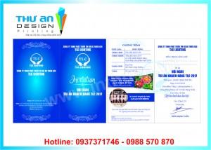 Thiết kế thiệp, in thiệp mời sự kiện lấy ngay tại Đống Đa
