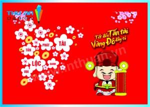 Địa chỉ in thiệp chúc tết Thanh Xuân