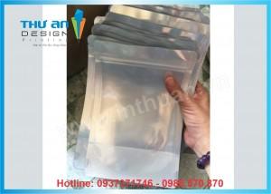 Xưởng sản xuất và phân phối túi zip bạc đáy đứng giá rẻ nhất Hà Nội