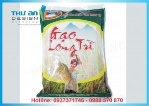 Xưởng in bao bì túi đựng gạo 5kg, 10kg ở Láng