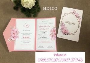 In thiệp cưới rẻ đẹp Láng Hạ