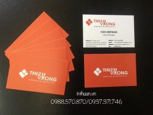 In name card, danh thiếp giá rẻ lấy ngay tại Huỳnh Thúc Kháng