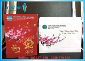 Thiệp chúc tết năm mới 2020 đẹp giá rẻ tại Nguyễn Chí Thanh