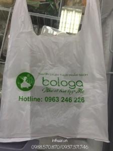 Địa chỉ cung cấp, in túi nilon cho siêu thị, cửa hàng tiện lợi