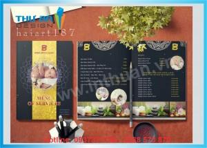 Địa chỉ in menu cafe, menu nhà hàng giá rẻ tại Đống Đa