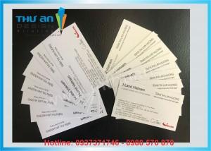 In card visit, in danh thiếp có những chất liệu nào? Địa chỉ in name card giá rẻ lấy ngay tại Hà Nội