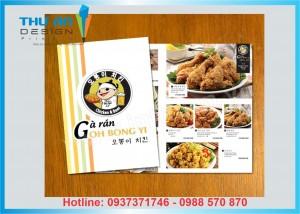 Lợi ích của việc in menu cho nhà hàng, quán ăn