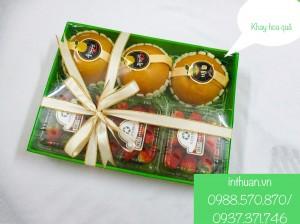 Chuyển sản xuất hộp giấy, túi giấy đựng hoa quả
